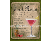 French Martini Cocktail