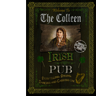 The Colleen  Irish Pub Sign