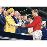 "1966 World Cup ""Bobby Moore & The Queen"""