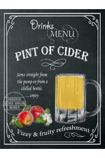Pint Of Cider