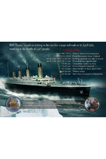 The Titanic Limited Edition Metal Plaque