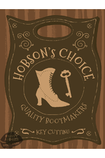 Hobsons Choice Bootmakers