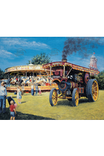 Burrell Showmans 1909 Fairground Locomotive