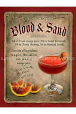 Blood & Sand Cocktail