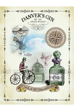 "Danveys Gin ""Bicycle\"""