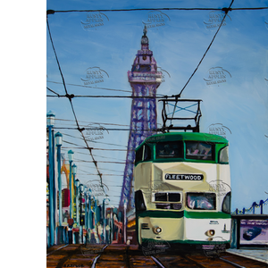 Blackpool To Fleetwoon Tram