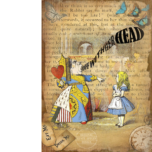 Alice In Wonderland The Queen Of Hearts World Of Quotes