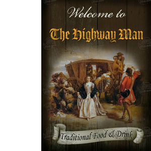 The Highway Man Pub Sign