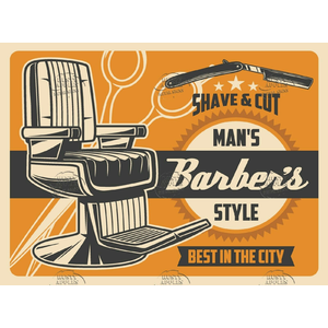 The Barbers Shave 12.