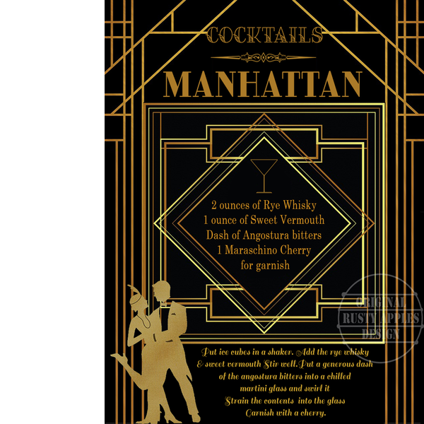 1920's Manhattan Art Deco